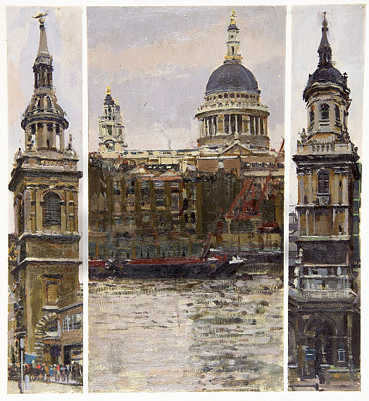 Wren's City Churches:St Mary Le Bow, St Paul's Cathedral and St Magnus Martyr