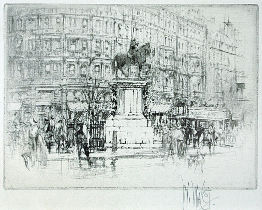 Charing Cross –The Statue of Charles I