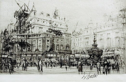 Piccadilly Circus –Rebuilding Swan and Edgars