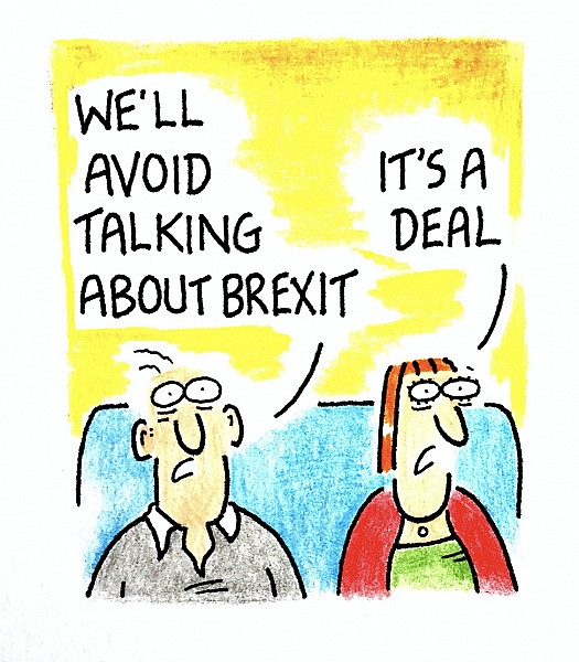 We'll avoid talking about Brexit