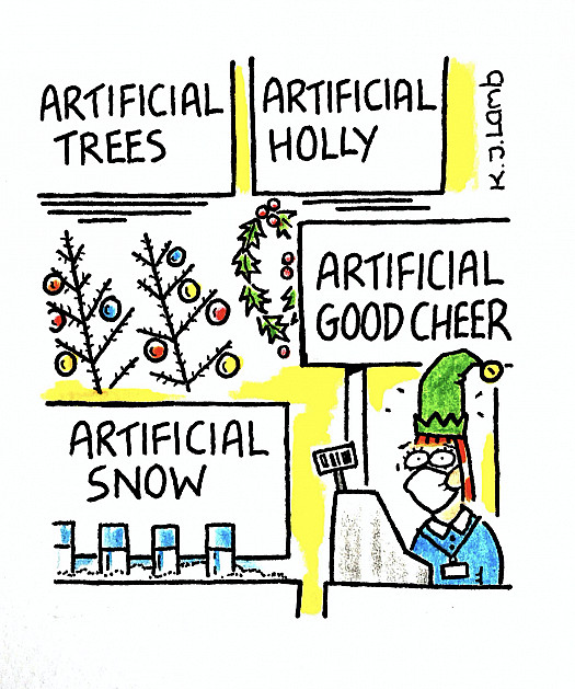 Artificial Good Cheer