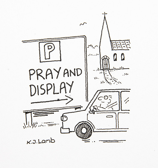 Pray and Display