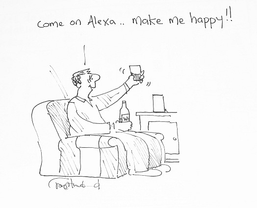 Come on Alexa ... Make me happy!!