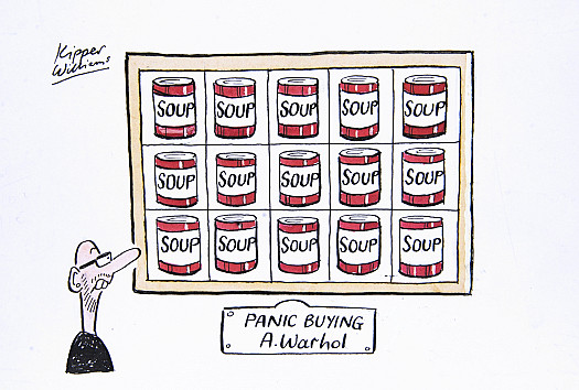 Panic Buying by Andy Warhol