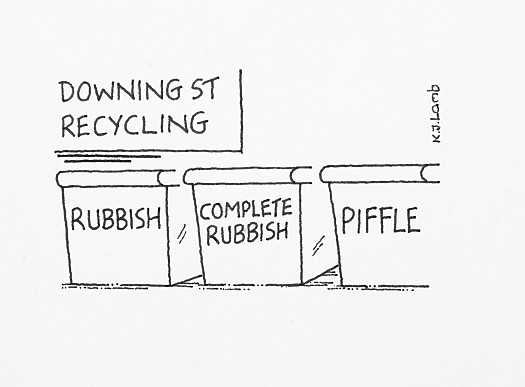 Downing St Recycling