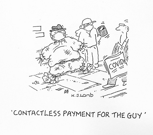 Contactless payment for the guy