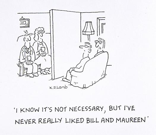 I know it's not necessary, but I've never really liked Bill and Maureen