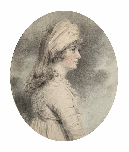 Miss Ellis as a Young Lady