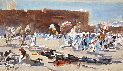 Moroccan Market, Outside the Gates