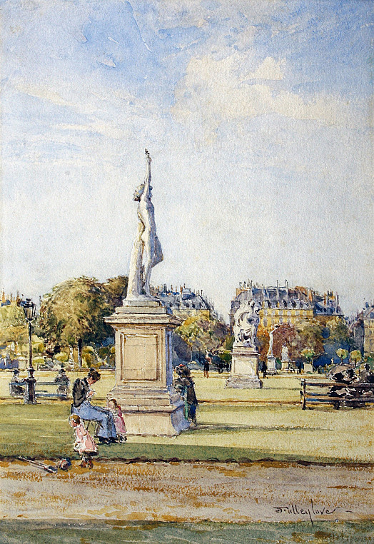 In the Tuileries Gardens, Paris