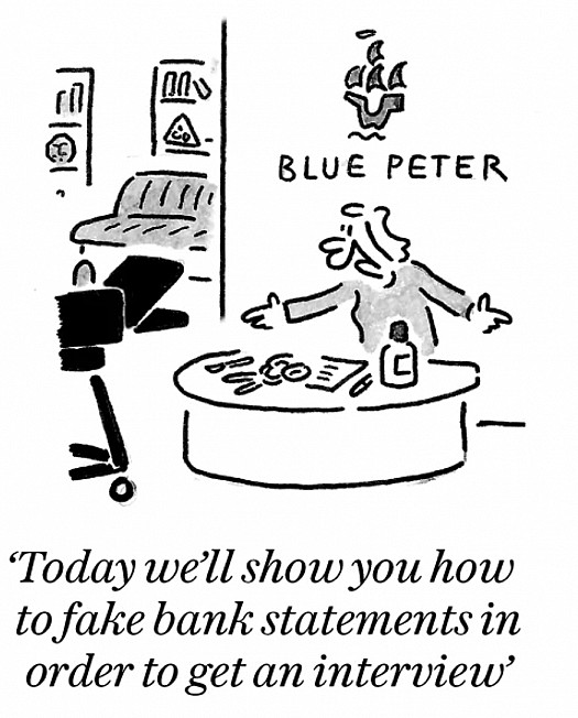 Today we'll show you how to fake bank statements in order to get an interview