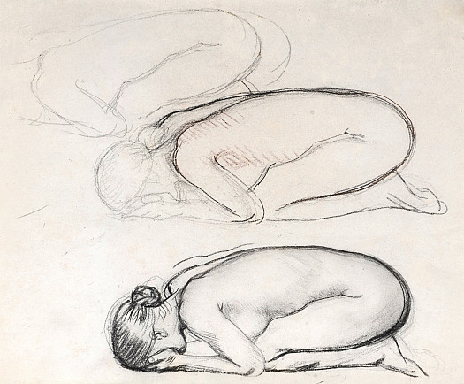 Study for 'Youth Mourning'