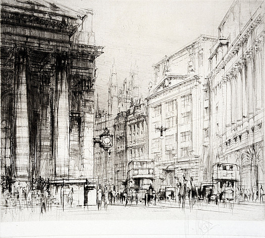 Cornhill and the Royal Exchange