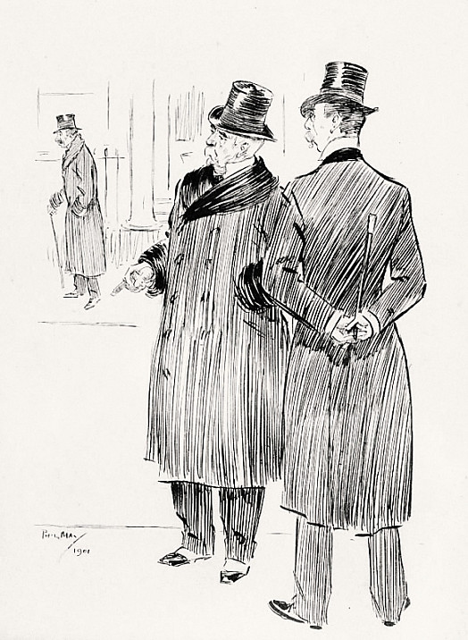 The Major. 'Yes, by Jove. All That Confounded Drink. the One Lowering the Other!'