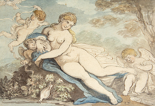 Cupid Removing a Thorn from Venus's Foot