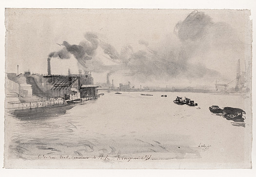 The Thames at Millwall