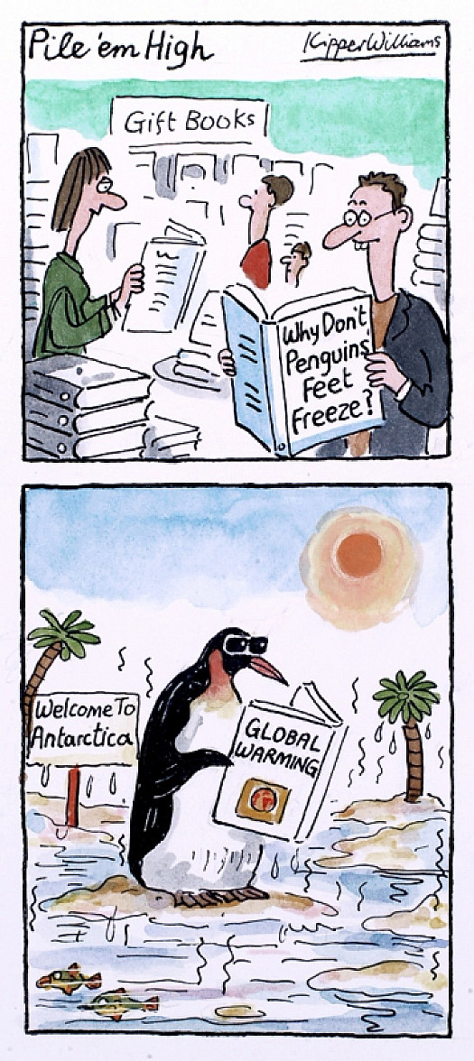 Why Don't Penguin's Feet Freeze?