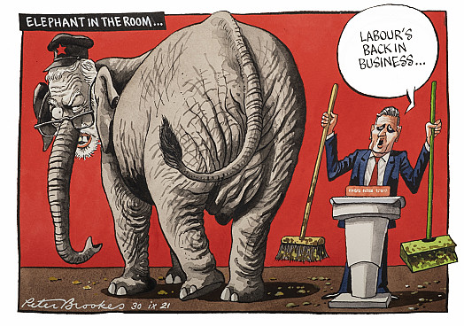 Elephant in the room ...