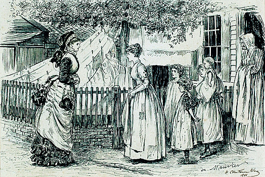 EqualityLady Clara Vere De Vere. 'Can You Tell Me, Jane, What You Most Want For Your Wedding?'Jane. 'Really My Lady, I Can't 'Ardly Say, I Aven't Got Nothing, but You'd Know Best My Lady –Anything just What You'd Want, My Lady, if You Was In the Same Position'