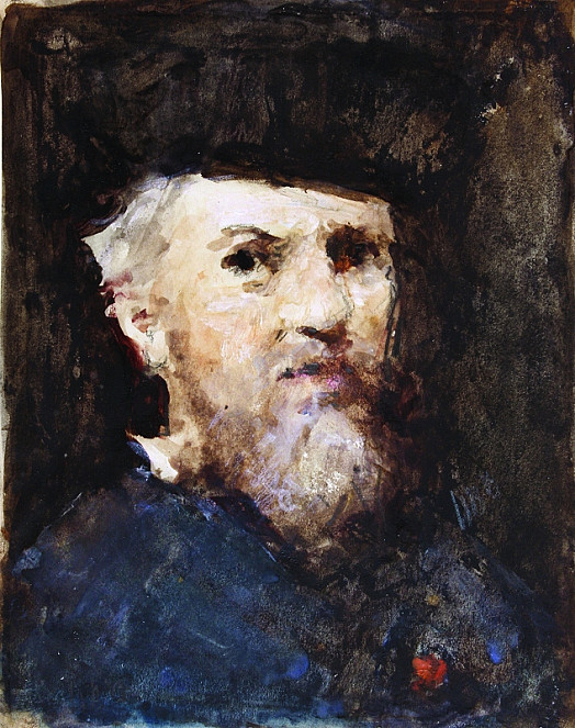 A Souvenir of a Self-Portrait by Jean-Jacques Henner