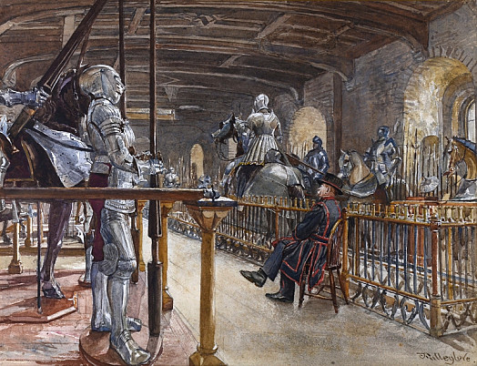 Council Chamber In the White Tower, Tower of London