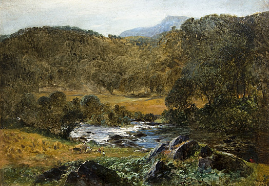The Valley of the Dee Between Llangollen and Corwen