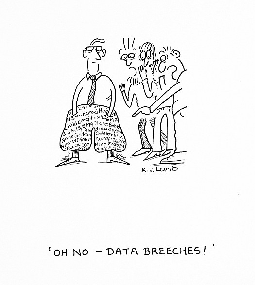 Oh No - Data Breeches!
