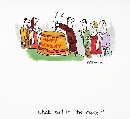 What Girl In the Cake?!
