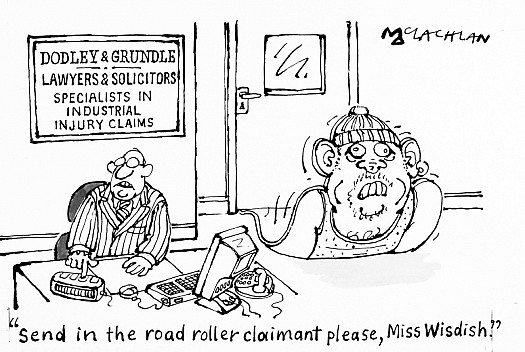 Send In the Road Roller Claimant Please, Miss Wishdish