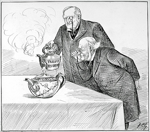 The Unionist Tea Pot