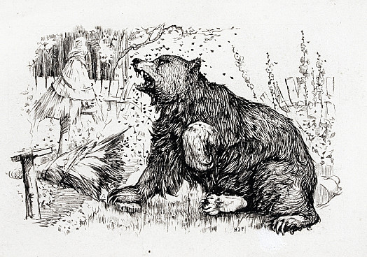 The Bear and the Honey