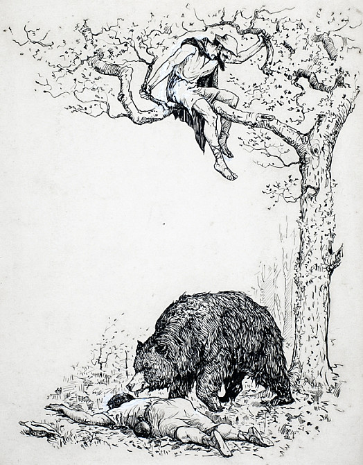 The Travellers and the Bear