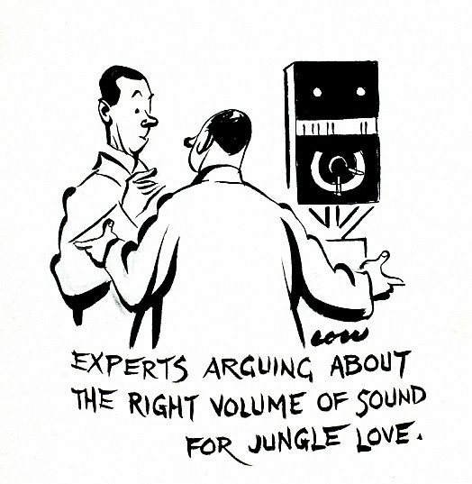 Experts Arguing About the Right Volume of Sound For Jungle Love