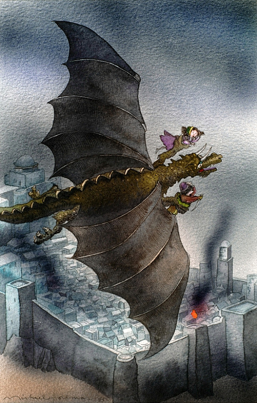 In the Clutches of the Dragon