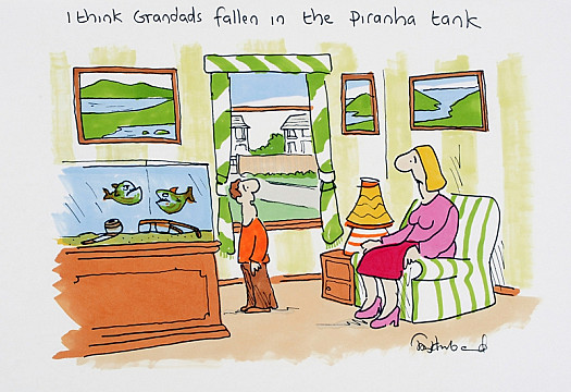 I Think Grandad's Fallen In the Piranha Tank