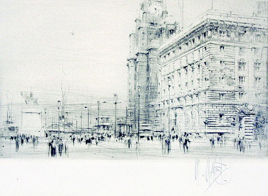 Liverpool - the Cunard Building