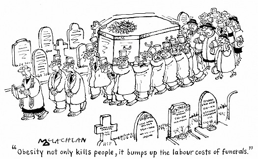 Obesity Not only Kills People, It Bumps Up the Labour Costs of Funerals