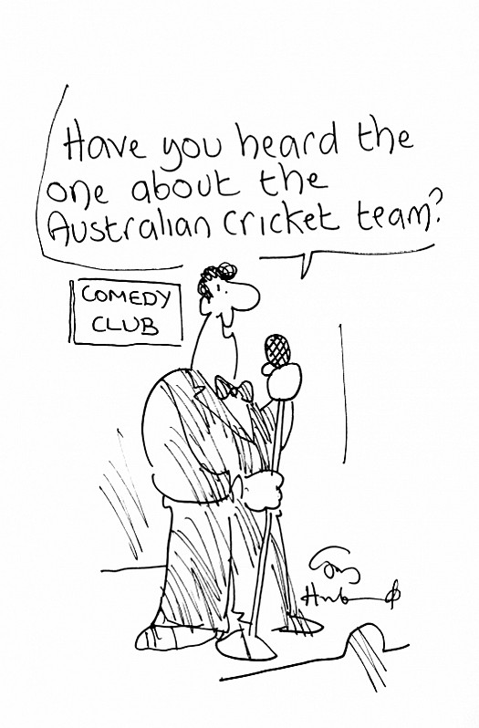 Have You Heard the One About the Australian Cricket Team