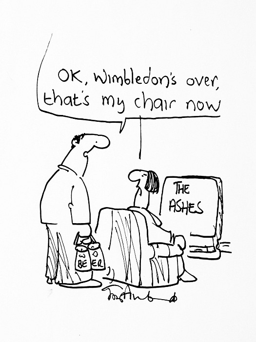 Ok, Wimbledon's Over, That's My Chair Now