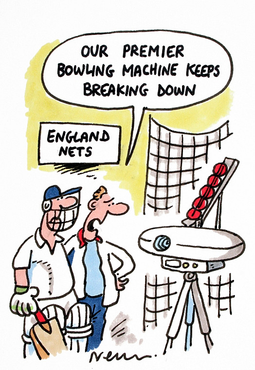 Our premier bowling machine keeps breaking down