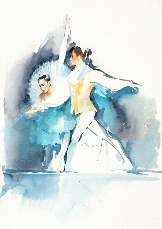 Aurora and Prince Florimund, the Sleeping Beauty, the Royal Ballet