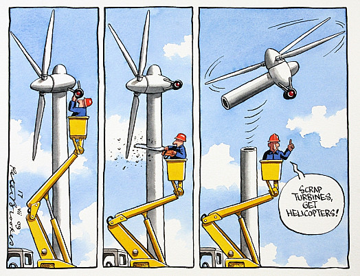 Scrap Turbines, Get Helicopters!