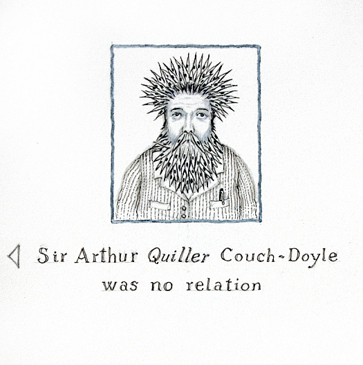 Sir Arthur Quiller Couch-Doyle Was No Relation