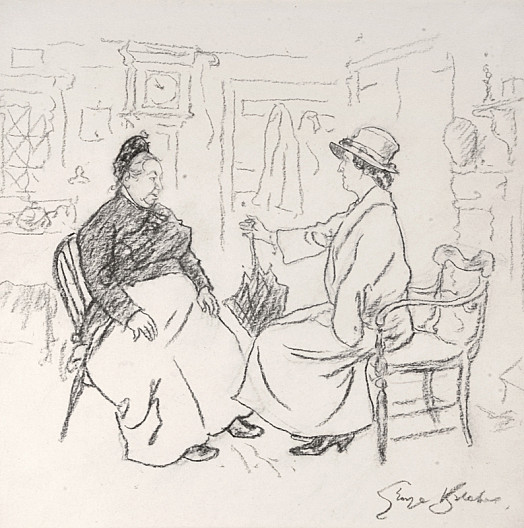 Lady – Are You Interested In the Derby, Mrs Cobb?Mrs Cobb – I've Put a Shilling In the Mothers' Union Sweepstake In the Hopes That I Shan't Win, Not Holdin' with Gamblin', Mum