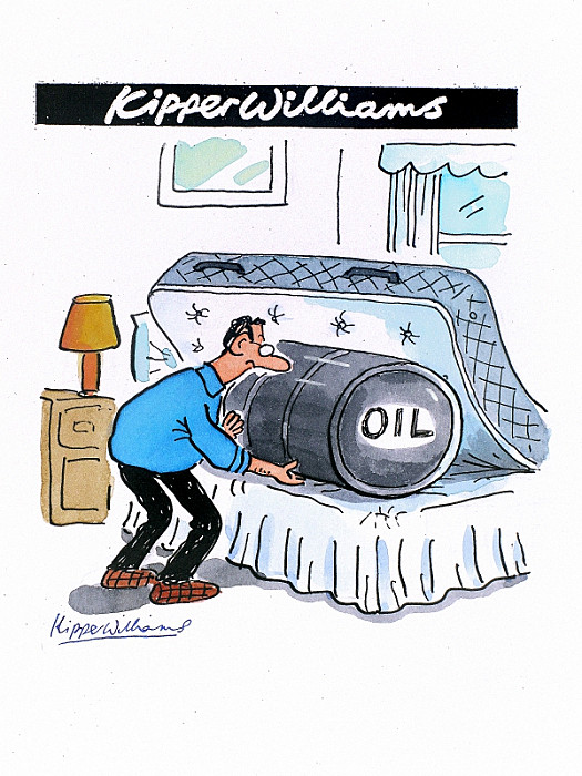 Oil under the Mattress