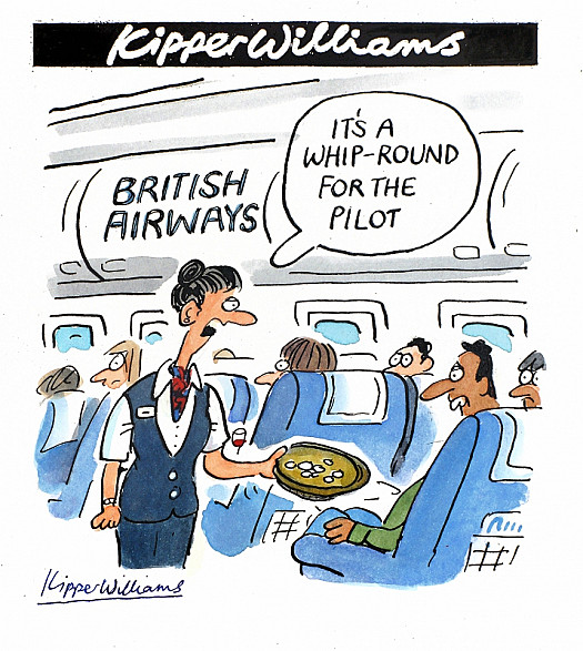 It's a Whip-Round For the Pilot