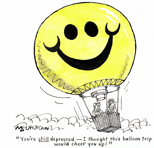 You're Still Depressed - I Thought this Balloon Trip Would Cheer You Up!