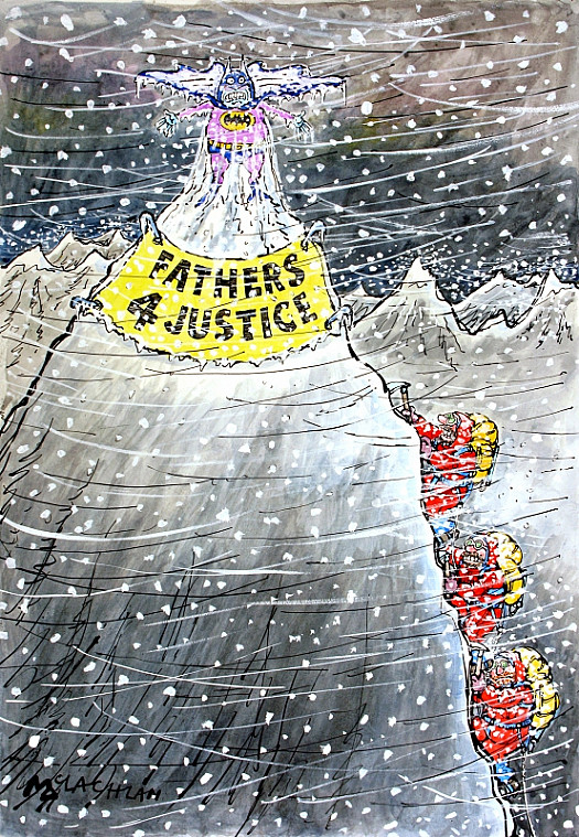 Fathers 4 Justice On Everest