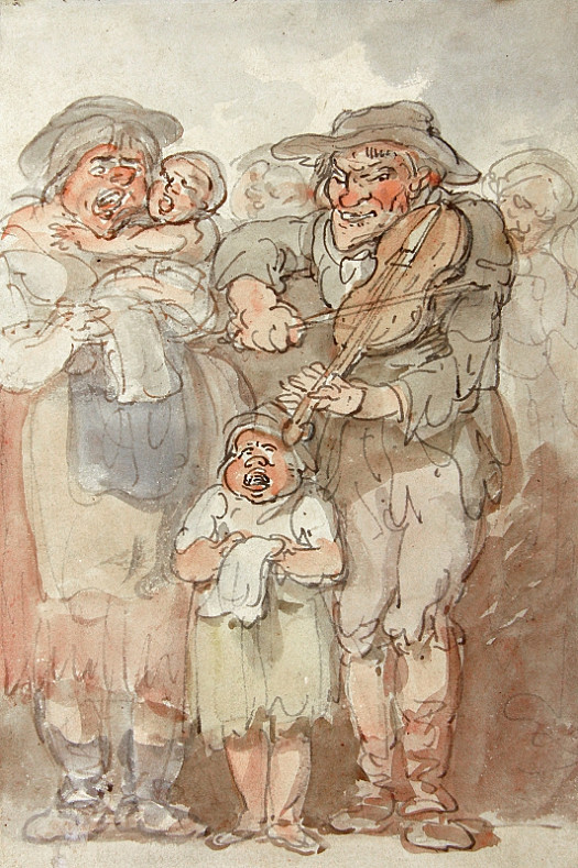 The Fiddler and His Family