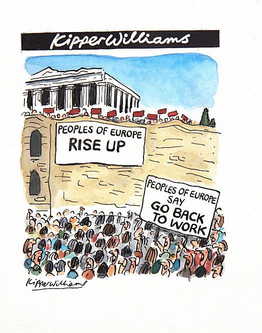 Peoples of Europe Rise UpPeoples of Europe Say Go Back to Work